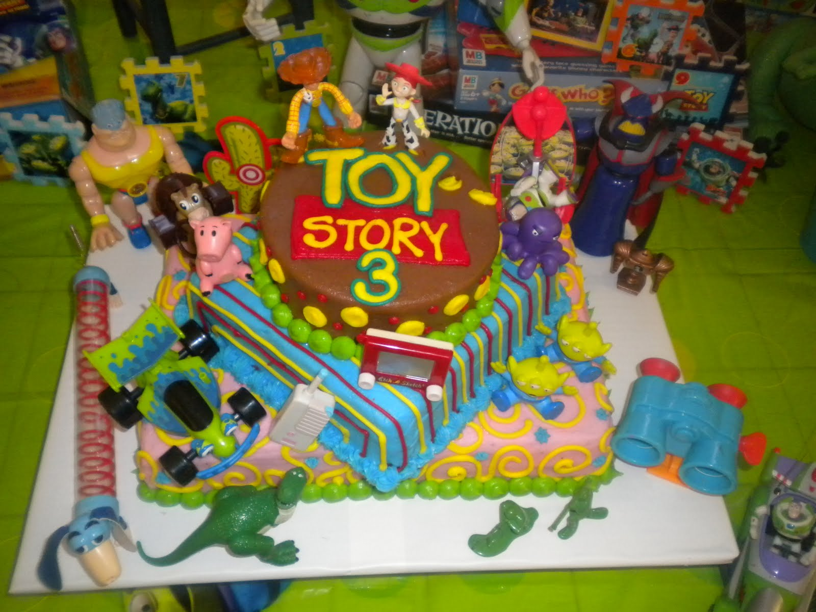 Toys For Birthday Party : Gerhart gang toy story