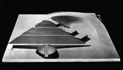 Isamu Noguchi Model Of Play Mountain 1933 Plaster Unrealized Courtesy The Museum