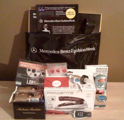 3 days of giveaways day 1 mercedes benz fashion week for Mercedes benz giveaway