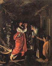 """Adam Elsheimer (1578-1610) : """"Ceres y Stellio"""""""