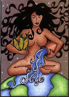 Ha Hai-i Wuhti- Hopi Earth Goddess ATC