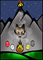 Coyote makes Fire ATC by Melissa Muir (Lagaz) March 2008