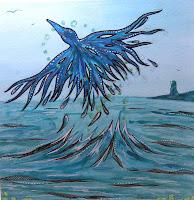 Seabird Fly Free by Melissa Muir
