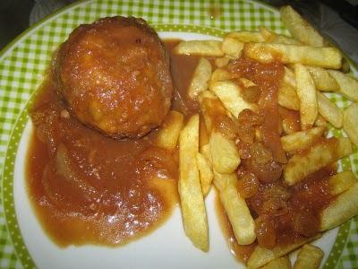 recettes  Boulets sauce lapin