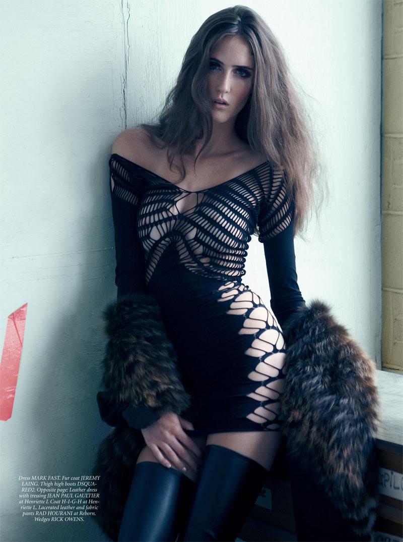Celebrity Fashions: Amanda Laine - Dress to Kill Magazine, Fall 2010