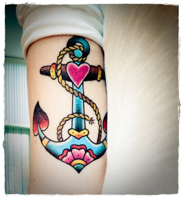 Faith Hope Love Anchor Tattoo http://simplediva.blogspot.com/2011/01/anchors.html