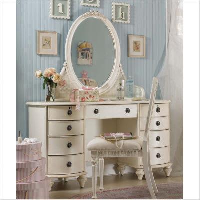 Lea Emmas Treasures Large Bedroom Vanity With Optional Mirror And