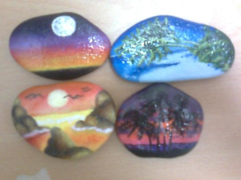 Un color una sensacion proyecto fin de curso pintura for Pintura para pintar piedras