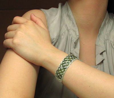 Sea Moss - Macrame bracelet
