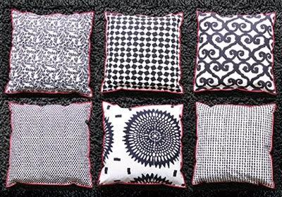 sofablog ethno kissen von gervasoni indigo look. Black Bedroom Furniture Sets. Home Design Ideas