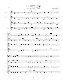 Partituras para o Musical de Natal