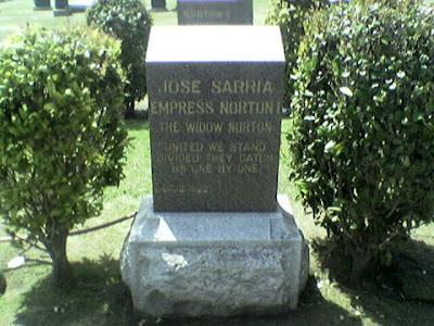 The Widow Norton, Woodlawn Cemetery, Colma, CA