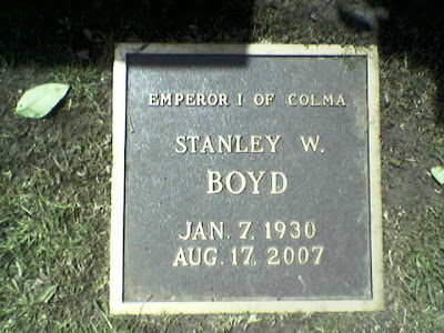 Woodlawn Cemetery, Colma, CA
