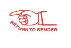 how to return letter to sender canada