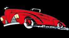 Imagen del 1º batimovil de comics en 1941