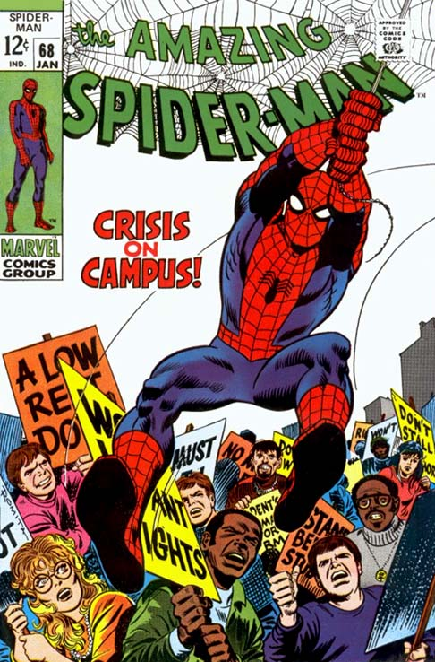 Best Comic Book Covers Of All Time : Top five most important spider man artists of all time