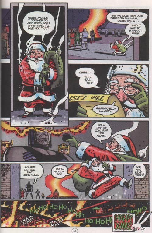 Christmas Countdown Santa Vs Darkseid
