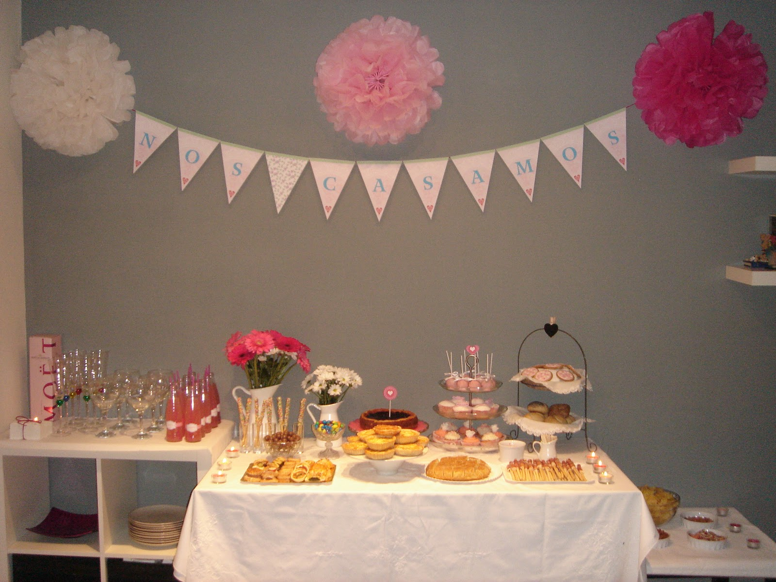 La chica de la casa de caramelo nuestra fiesta de compromiso for Ideas decoracion fiesta