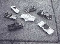 My Corgi cars