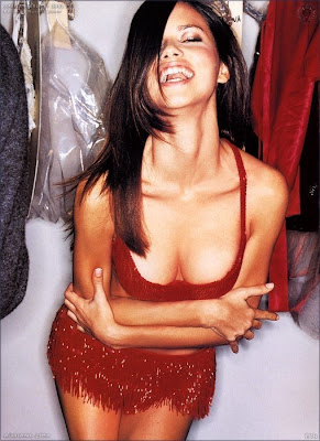 adriana lima hollywood actress laughing