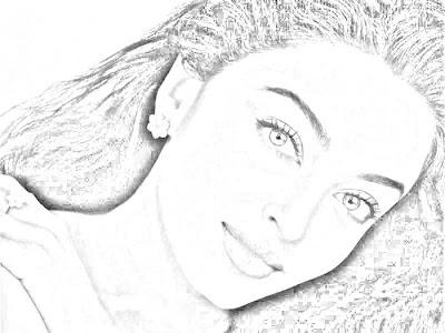aishwarya rai drawing
