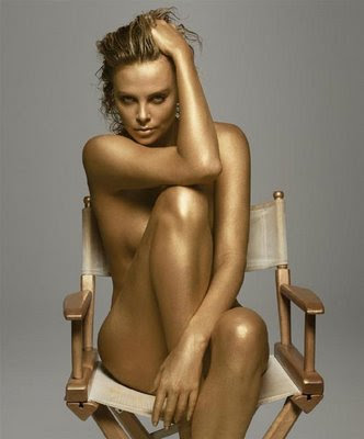 Charlize Theron Tattoos