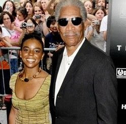 morgan freeman affair with granddaughter