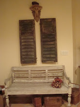 what I did with my French shutters
