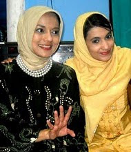 Kakak Saya Jasmine Shahnaz Hasan dan Kak Marissa Haque