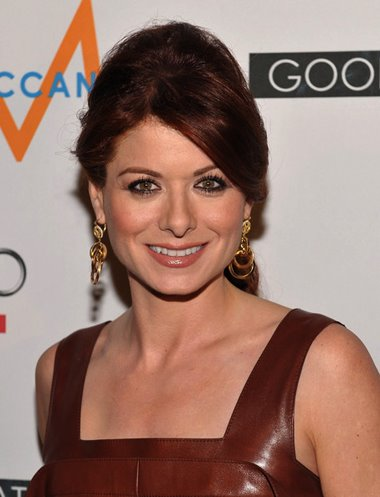 But not Debra Messing, who looked as though she . Debra Messing with formal hairstyle