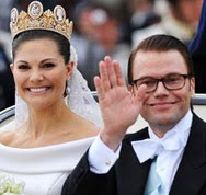 Princess Victoria of Sweden Gets Married (Updated)