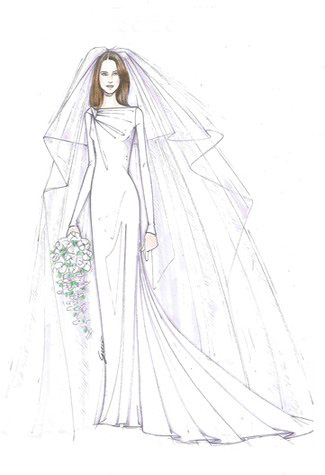 "kate middleton wedding dress designs. ""I admire the balance Kate"