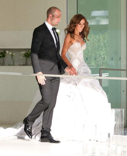I Am Fashion: Chris Judd & Rebecca Twigley Wedding