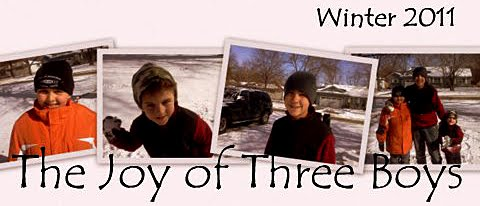 The Joy of Three Boys
