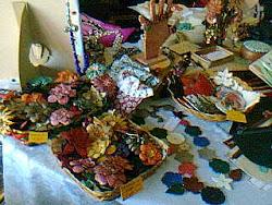 Silvia Caver Diseño en la Feria de María Pía