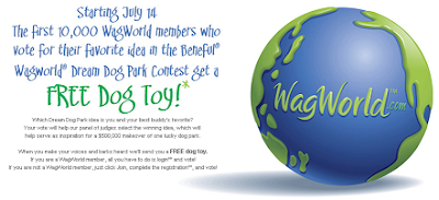 Free Dog Toy from Beneful