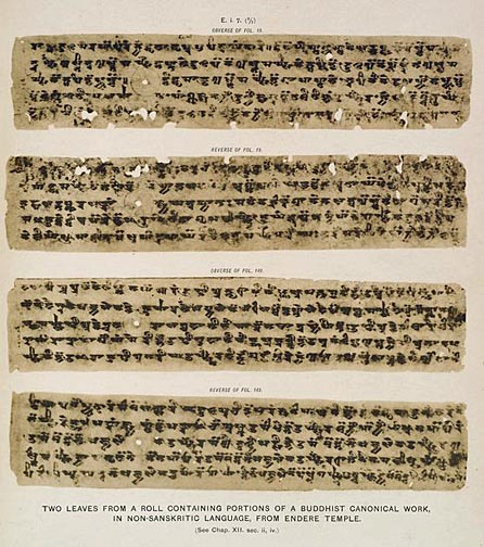 Buddhist Canonical Texts Buddhist Canonical Work