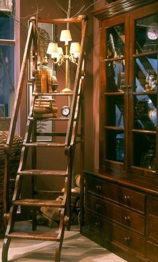 Librer as con escalera desde my ventana blog de - Librerias con escalera ...