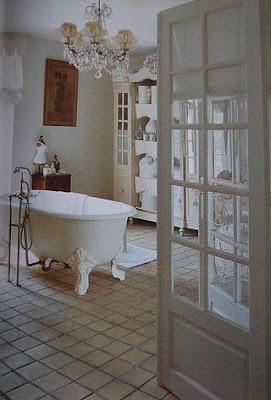 romantic bathroom desde my ventana blog de decoraci n. Black Bedroom Furniture Sets. Home Design Ideas