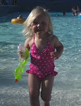 Tatum swimming