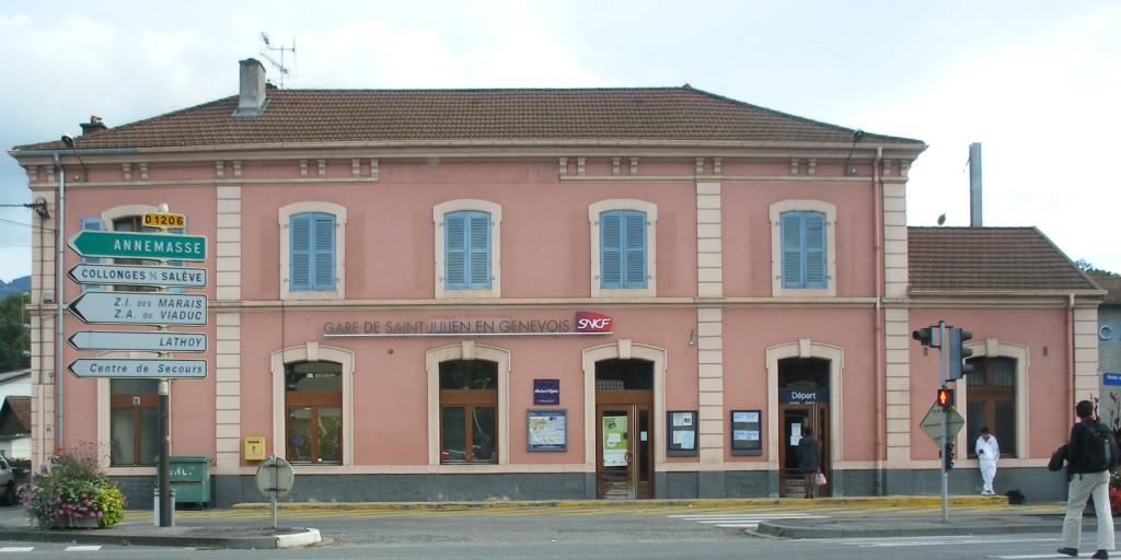 Le ferrovipathe gare de saint julien en genevois - Garage st julien en genevois ...