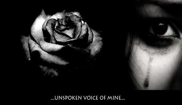Unspoken Voice of Mine