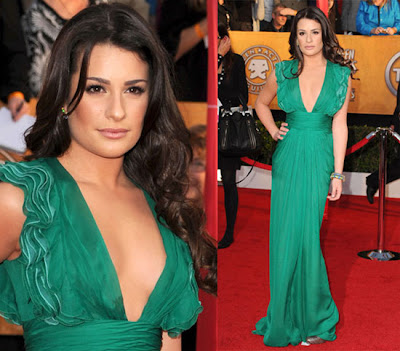Lea Michelle Sag Awards 2010