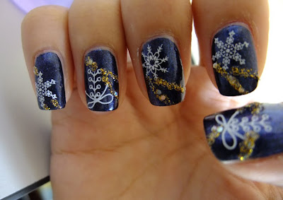 Nails by Rachel: Winter nails~ shall we?^^