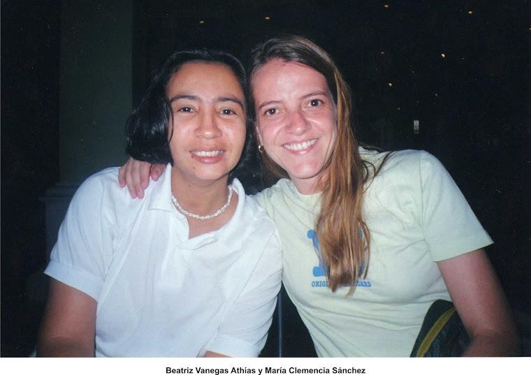 María Clemencia Sánchez y Beatriz Vanegas Athías