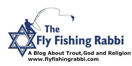 The Fly Fishing Rabbi