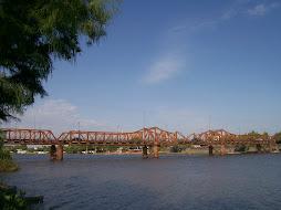 Un emblemático puente de Gualeguaychú