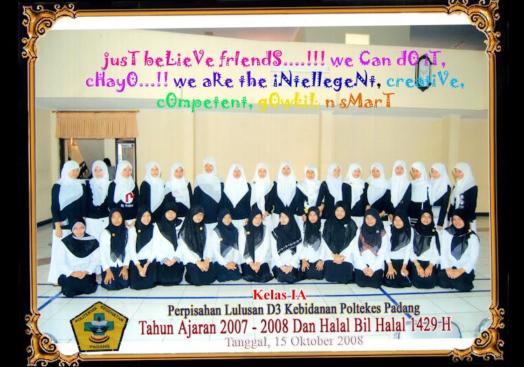 Mahasiswa AKBID KEMENKES '08 Padang