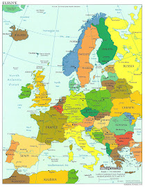 Mapa de Europa político