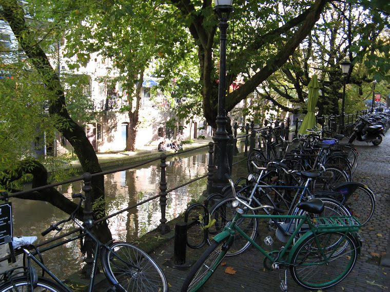 canales y bicis por doquier